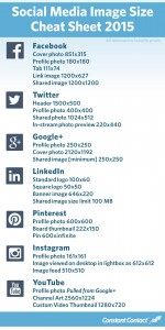 Social Media Dimension Quick Reference